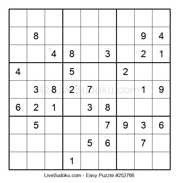 Beginners Puzzle #252766