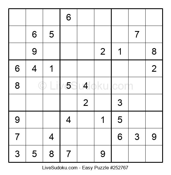 Beginners Puzzle #252767