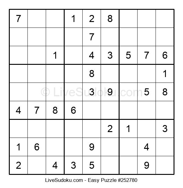 Beginners Puzzle #252780