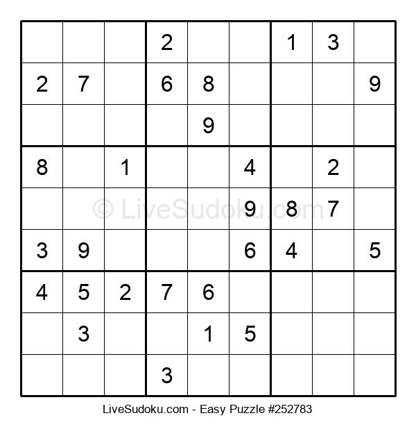 Beginners Puzzle #252783