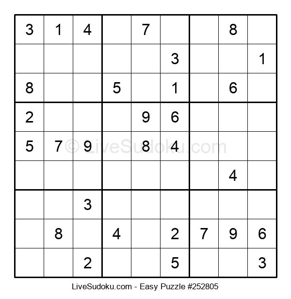 Beginners Puzzle #252805