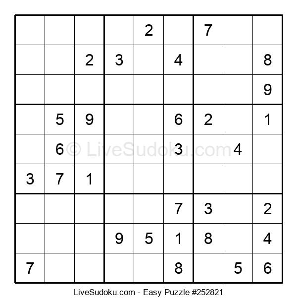 Beginners Puzzle #252821