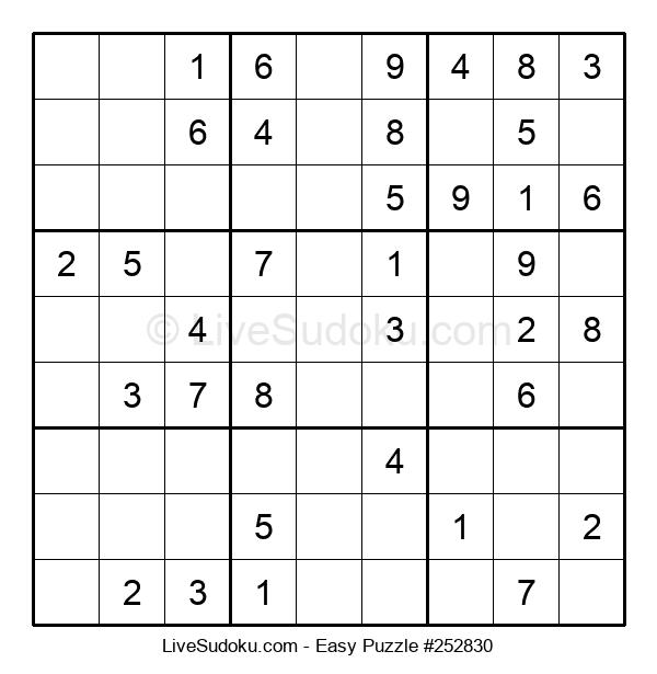 Beginners Puzzle #252830