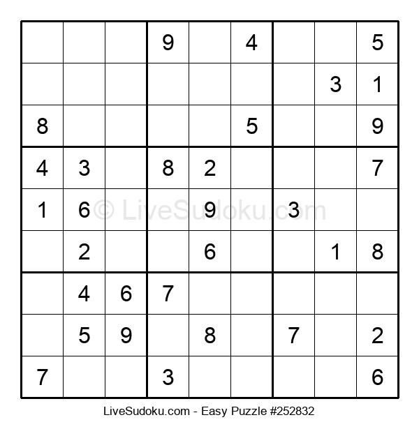 Beginners Puzzle #252832