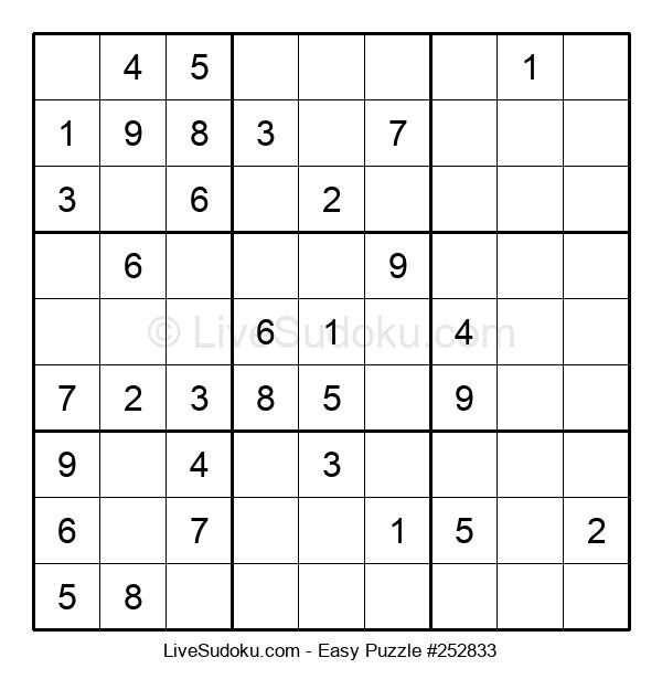 Beginners Puzzle #252833