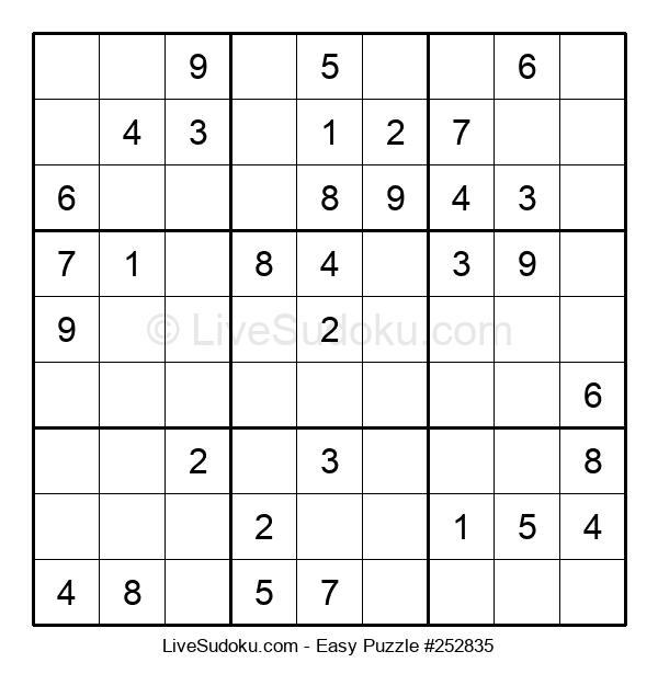 Beginners Puzzle #252835