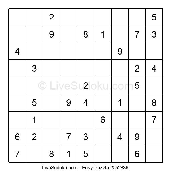 Beginners Puzzle #252836