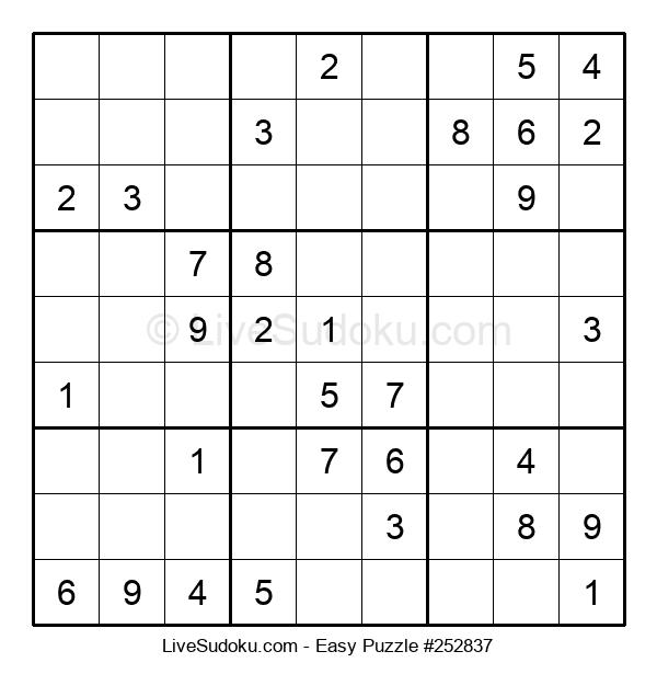 Beginners Puzzle #252837