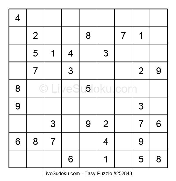 Beginners Puzzle #252843