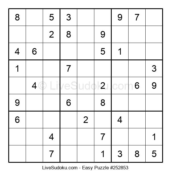 Beginners Puzzle #252853