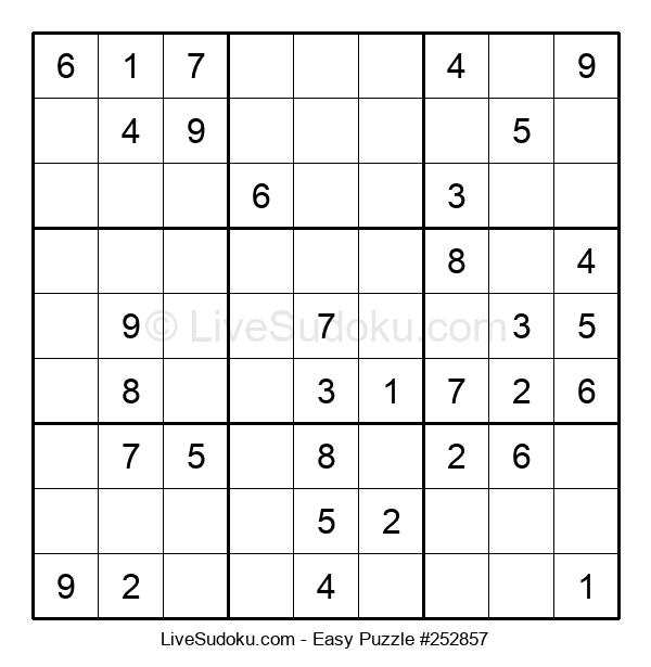 Beginners Puzzle #252857