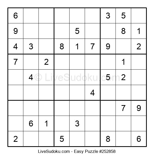 Beginners Puzzle #252858
