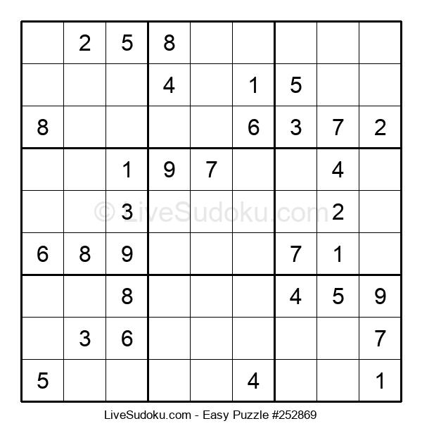 Beginners Puzzle #252869