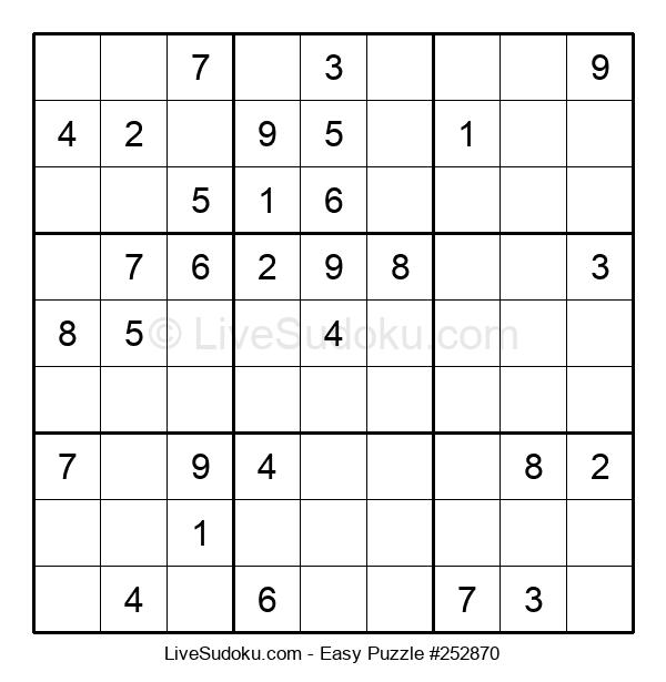 Beginners Puzzle #252870
