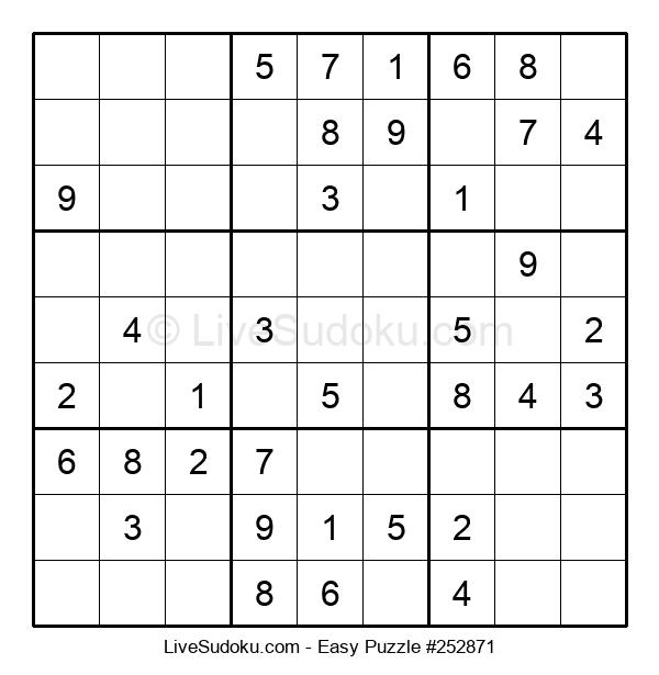 Beginners Puzzle #252871