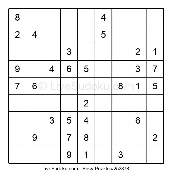 Beginners Puzzle #252878