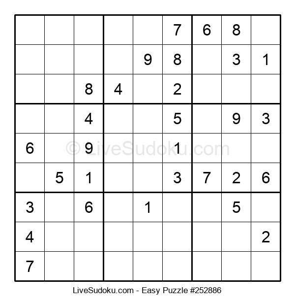Beginners Puzzle #252886