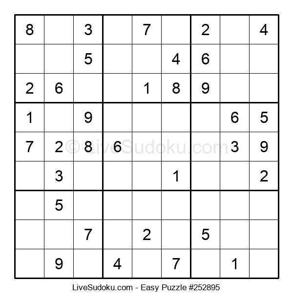 Beginners Puzzle #252895