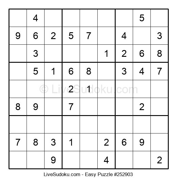 Beginners Puzzle #252903