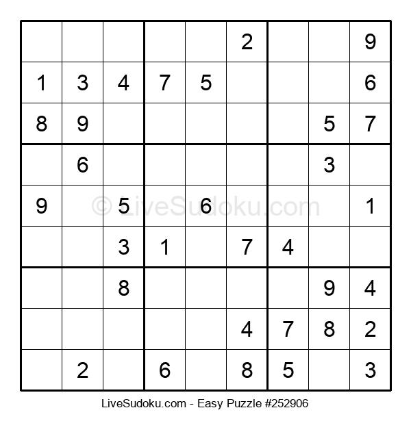 Beginners Puzzle #252906