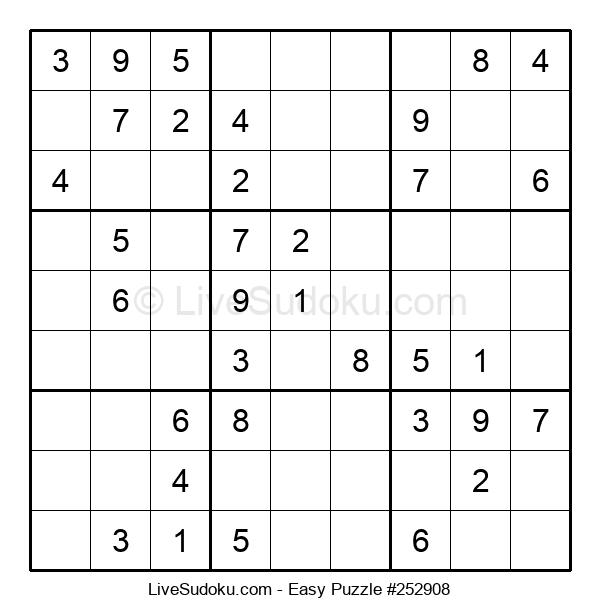 Beginners Puzzle #252908