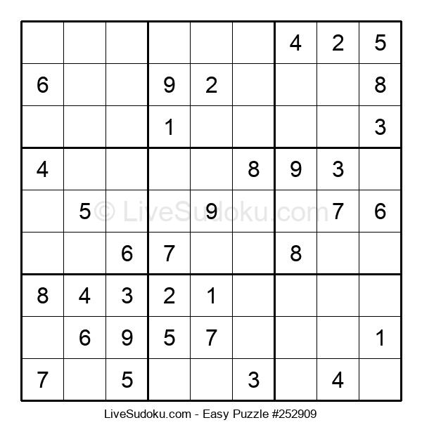 Beginners Puzzle #252909
