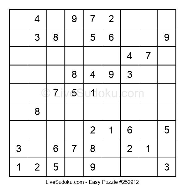 Beginners Puzzle #252912