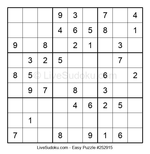 Beginners Puzzle #252915