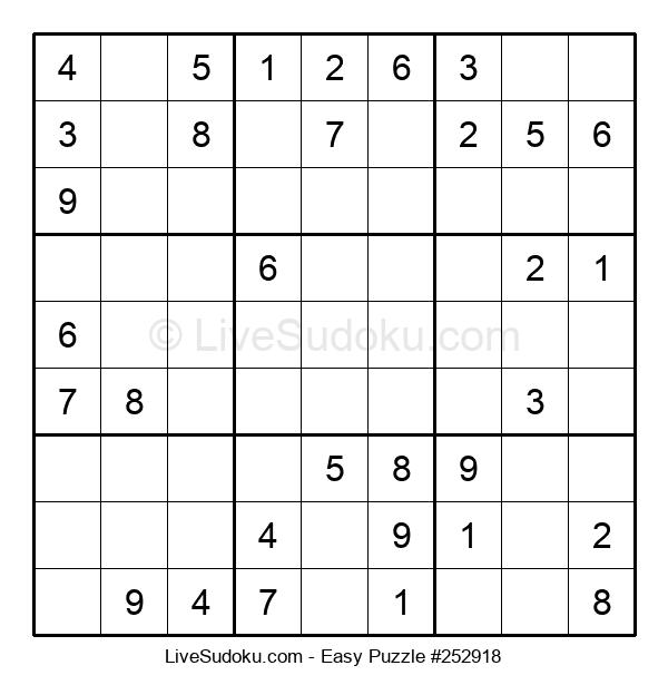 Beginners Puzzle #252918