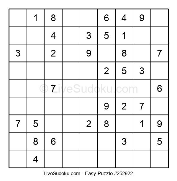 Beginners Puzzle #252922