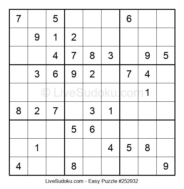 Beginners Puzzle #252932