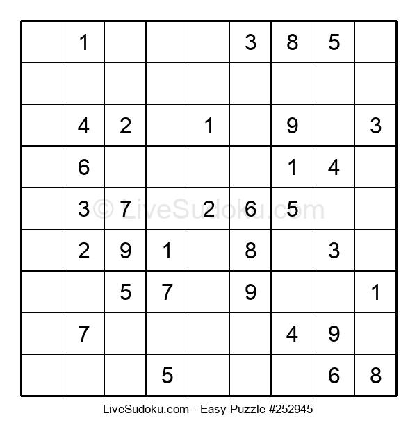 Beginners Puzzle #252945