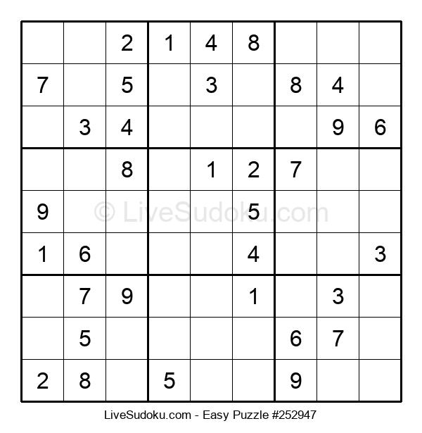 Beginners Puzzle #252947