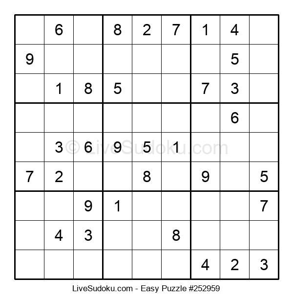 Beginners Puzzle #252959
