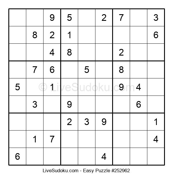 Beginners Puzzle #252962