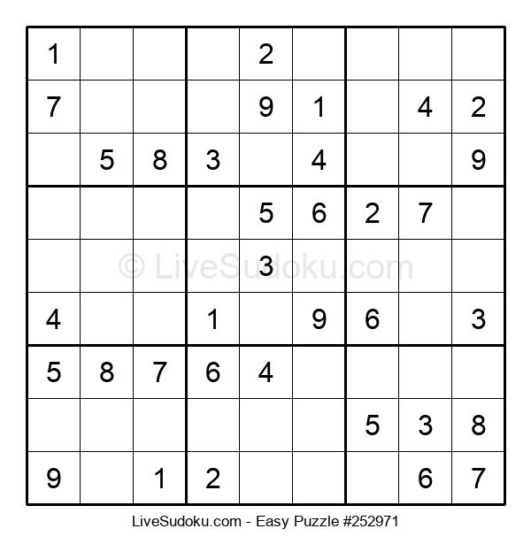 Beginners Puzzle #252971