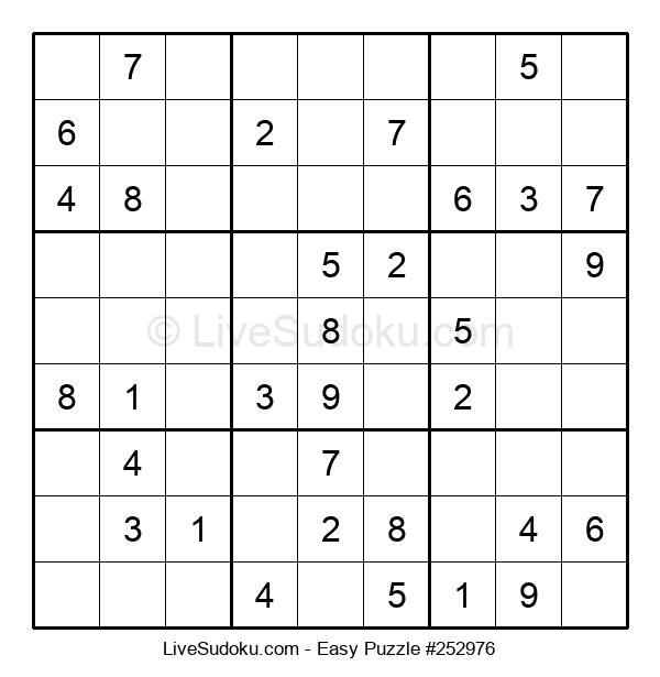Beginners Puzzle #252976