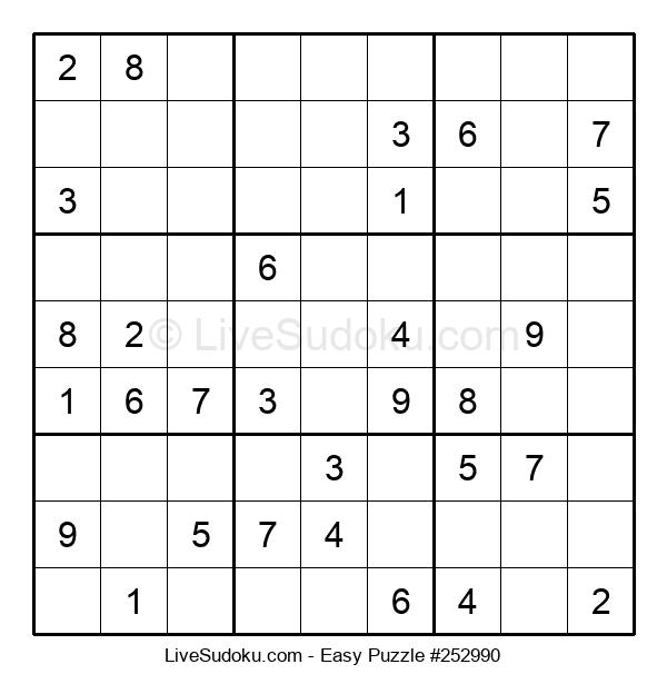 Beginners Puzzle #252990