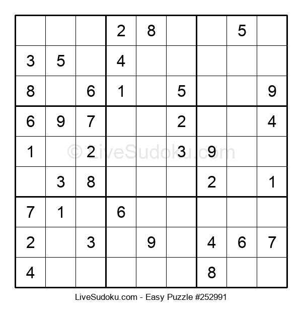 Beginners Puzzle #252991