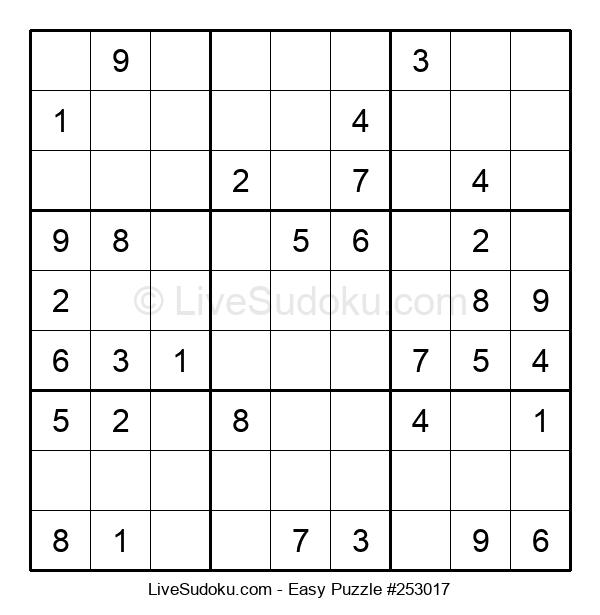Beginners Puzzle #253017