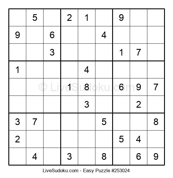 Beginners Puzzle #253024