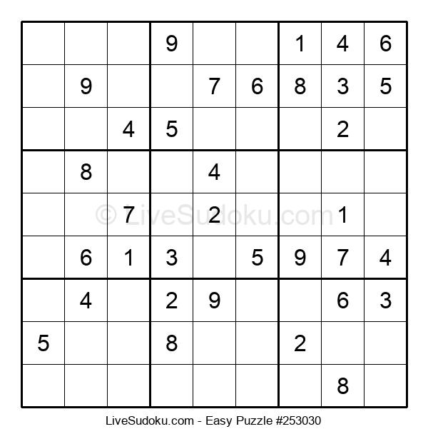 Beginners Puzzle #253030