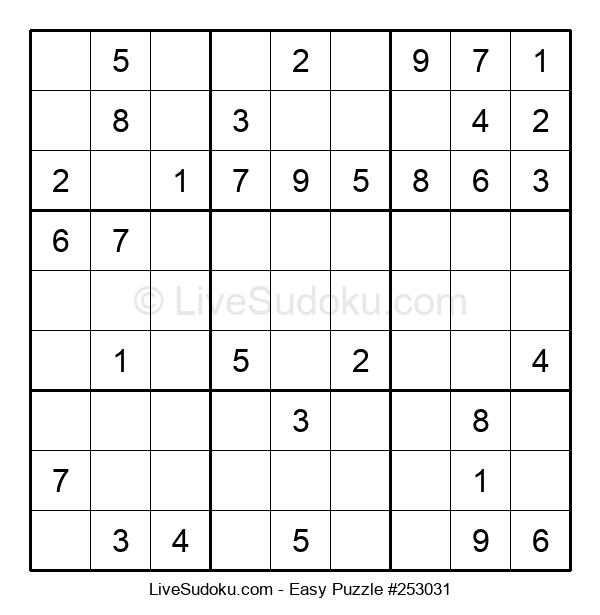Beginners Puzzle #253031