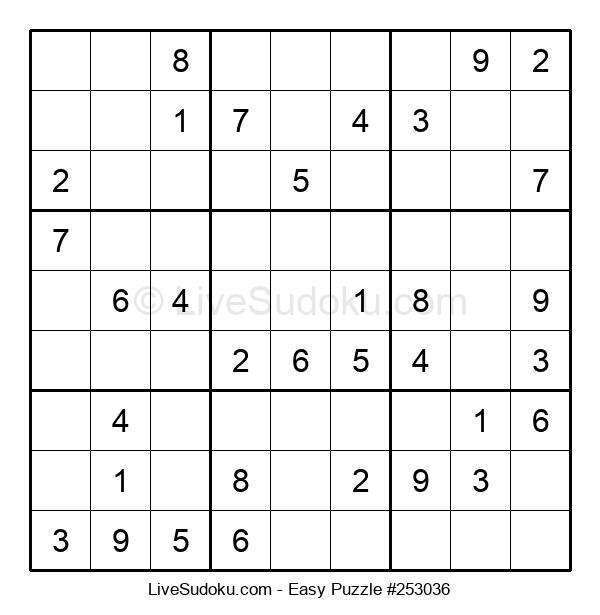 Beginners Puzzle #253036
