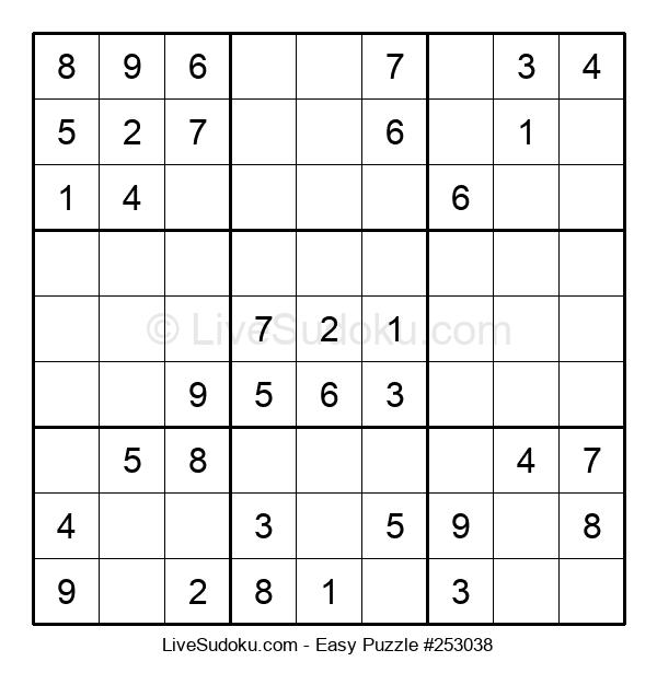 Beginners Puzzle #253038