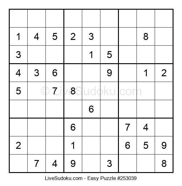 Beginners Puzzle #253039