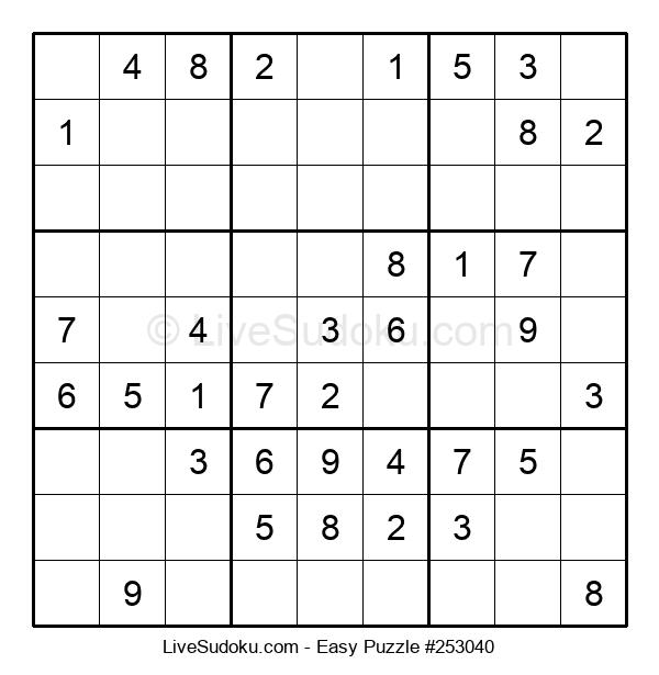 Beginners Puzzle #253040