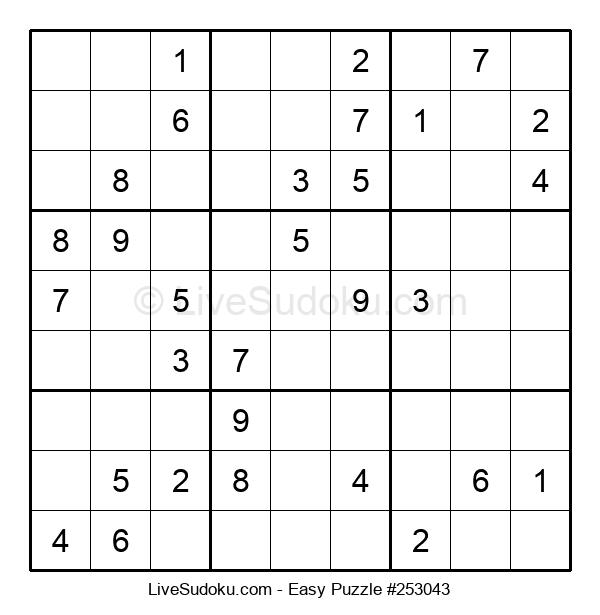 Beginners Puzzle #253043