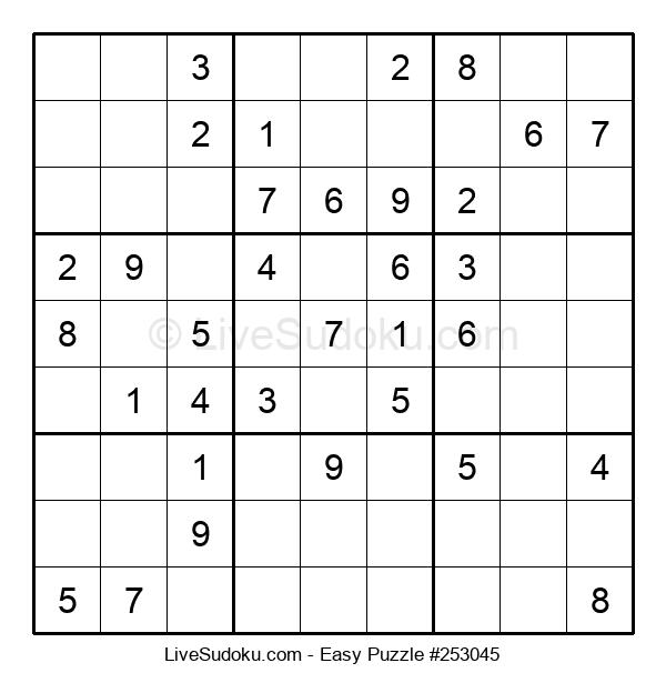 Beginners Puzzle #253045