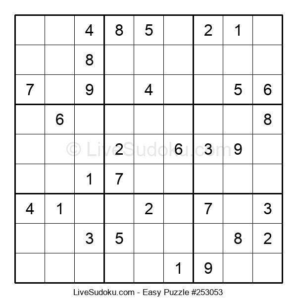 Beginners Puzzle #253053